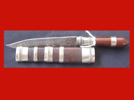 มีดหมอปากกา ขนาดใบมีด 2.5 นิ้ว ด้ามไม้ หลวงพ่อเปลื้อง วัดลาดยาว เกจิดังอายุกว่า 108 ปี สวยมาก 1
