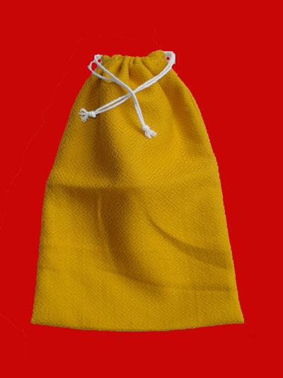 ถุุงผ้าใส่ช้อนซ่อม หรือสัมภาระเล็ก ๆ น้อย ๆ สำหรับถวายพระ 1 ชุด 3 ถุง