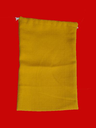 ถุุงผ้าใส่ช้อนซ่อม หรือสัมภาระเล็ก ๆ น้อย ๆ สำหรับถวายพระ 1 ชุด 3 ถุง 1
