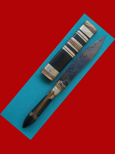 มีดหมอปากกา รุ่น 1 ขนาดใบมีด 2.5 นิ้ว หลวงพ่อสืบ วัดสิงห์ เกจิดังจังหวัดนครปฐมต่อจากหลวงปู่เจือ 2