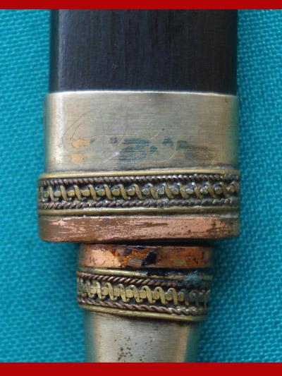 มีดหมอปากกา รุ่น 1 ขนาดใบมีด 2.5 นิ้ว หลวงพ่อสืบ วัดสิงห์ เกจิดังจังหวัดนครปฐมต่อจากหลวงปู่เจือ 4