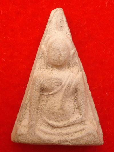 พระนางพญา อ.ถนอม พิมพ์ใหญ่ เข่าโค้ง วัดนางพญา พิษณุโลก ปี2514 สวยหายาก