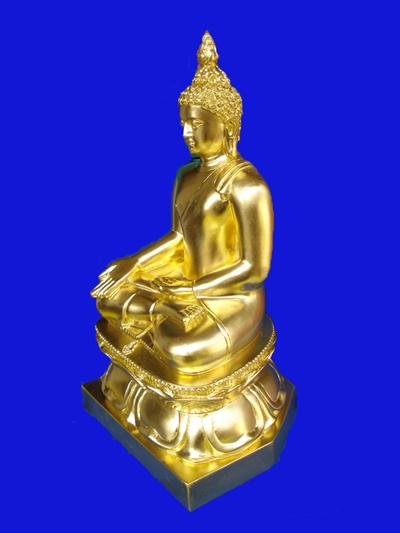 พระบูชาไพรีพินาศ สมเด็จพระสังฆราช วัดบวรนิเวศ ขนาดหน้าตักกว้าง 7 นิ้ว ลงรักปิดทอง ควรมีไว้บูชา 2