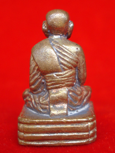 รูปหล่อหลวงพ่อทวด ประจำตระกูล พิมพ์เบตงฐานสูง เนื้อทองแดง พระแจกไม่มีจอง วัดห้วยมงคล ปี 2554 สุดสวย 3