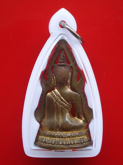รูปหล่อพระพุทธชินราช พิมพ์แต่ง รุ่นธรรมจักร เนื้อทองทิพย์ วัดพระศรีมหาธาตุ ปี 2543 สุดสวยพุทธคุณสูง 1