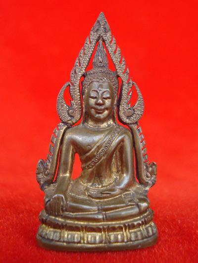 รูปหล่อพระพุทธชินราช พิมพ์แต่ง รุ่นธรรมจักร เนื้อทองทิพย์ วัดพระศรีมหาธาตุ ปี 2543 สุดสวยพุทธคุณสูง 3