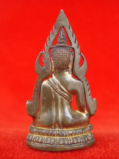 รูปหล่อพระพุทธชินราช พิมพ์แต่ง รุ่นธรรมจักร เนื้อทองทิพย์ วัดพระศรีมหาธาตุ ปี 2543 สุดสวยพุทธคุณสูง 5