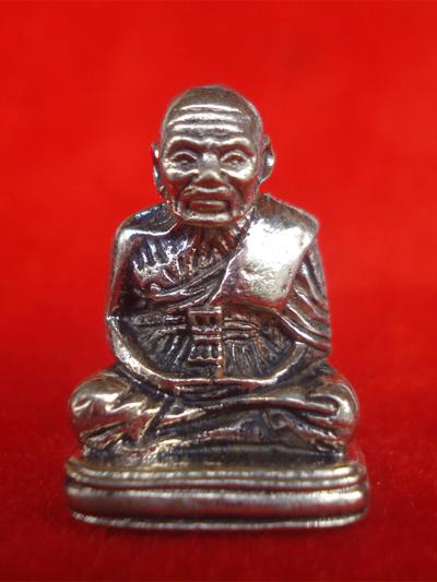 หลวงพ่อทวด พิมพ์เบตง รุ่นพิทักษ์แผ่นดิน เนื้อทองขาว หลวงพ่อทอง วัดสำเภาเชย ปี 2551 เลขสวย 1314