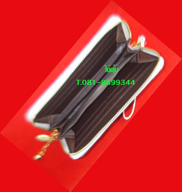 กระเป๋าสตางค์เดคูพาจ สีสวยสดใส ทันสมัย ขนาด ยาว 8 นิ้ว กว้าง 4 นิ้ว ภายในใส่ได้หลายช่อง 2