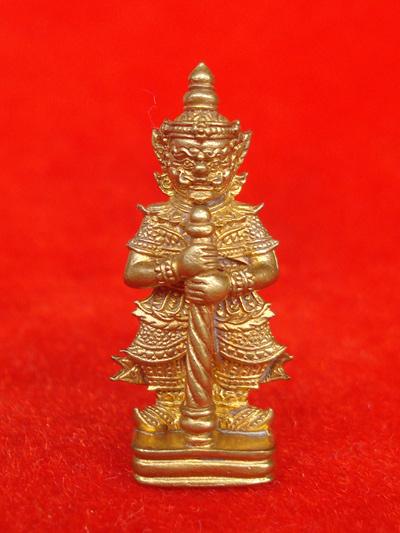 ท้าวเวสสุวรรณ เนื้อทองสตางค์ หลวงพ่อฟู วัดบางสมัคร รุ่นแซยิด ๘๘ โชค ลาภ ฟู ปี 2552 สวยมาก
