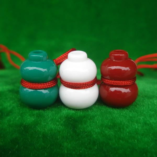 น้ำเต้าหลวงพ่อสด วัดปากน้ำ ชุด 3 สี รุ่น 100 ปี ภาพสี บูชาไว้เพื่อดูดทรัพย์ดีมาก 1