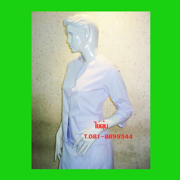 เสื้อชุดปฏิบัติธรรมสำหรับสุภาพสตรี ถวายแม่ชีก็ได้บุญกุศลแรง สวมใส่ปฏิบัติธรรมสวยงามและยิ่งได้บุญ