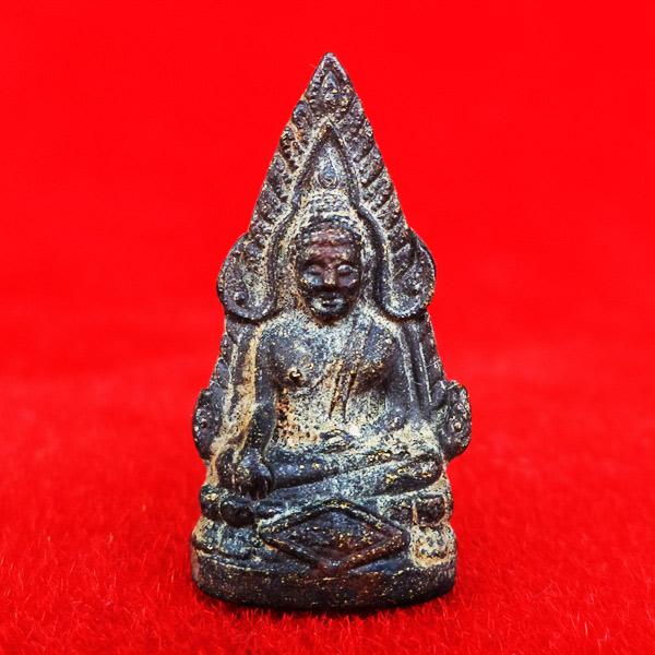 พระพุทธชินราช รุ่นมงคลแผ่นดิน เนื้อทองชนวนหล่อโบราณ วัดสุทัศน์ ปี 2534 สวยน่าบูชามากครับ