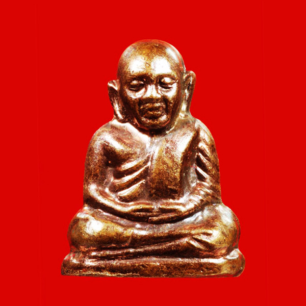รูปเหมือนปั๊ม หลวงพ่อเงิน บางคลาน วัดวังจิก รุ่น ว.จ.555 เนื้อทองแดง แจกกรรมการ ปี 2555