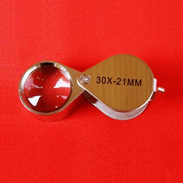 กล้องส่องพระ JEWELER\'S LOUPE TRIPLET 30 X - 21 mm รุ่นนี้คุณภาพเยี่ยม