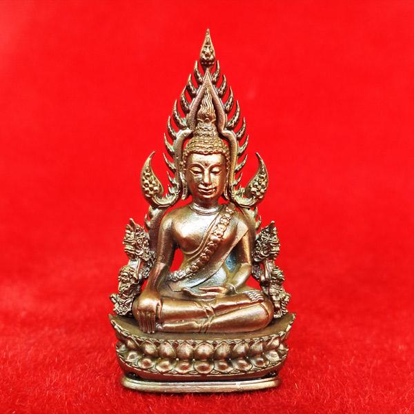 พระพุทธชินราช พิมพ์แต่งฉลุลอยองค์ รุ่นจอมราชันย์ เนื้อบรอนซ์นอก วัดพระศรีฯ สุดสวย