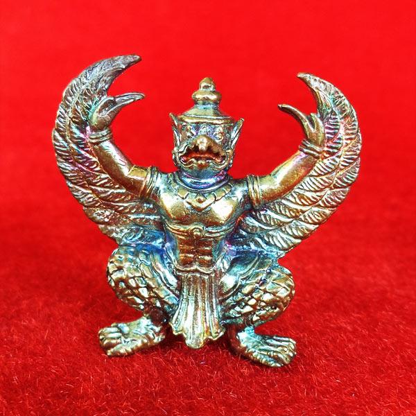 พญาครุฑมหาอำนาจ รุ่นแรก เนื้อนวโลหะอุดผง พ่อท่านพรหม วัดพลานุภาพ ปี 2554 สวยแชมป์ 1