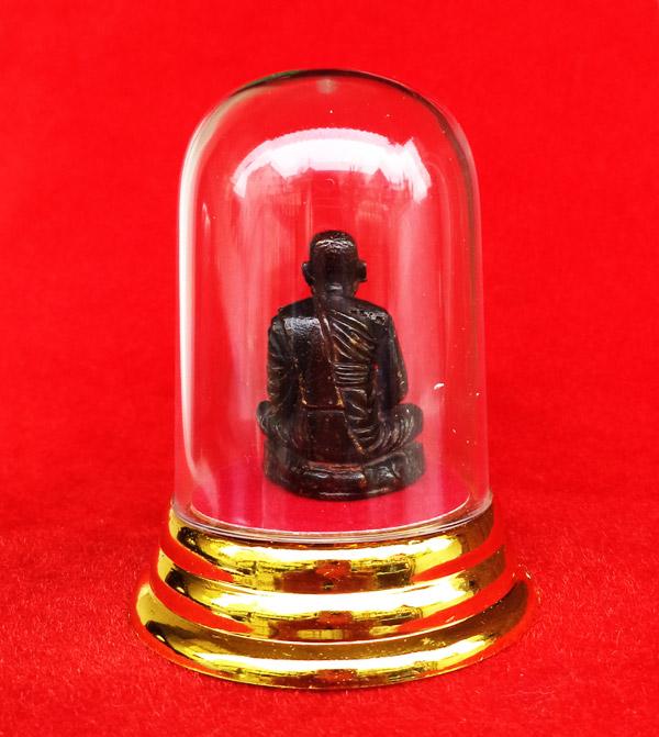 รูปเหมือนหลวงพ่อเงิน บางคลาน พระบูชา ตั้งหน้ารถ หน้าตัก 2.5 ซม. ปี 2535 วัดหัวดง พระสวยน่าบูชา 1