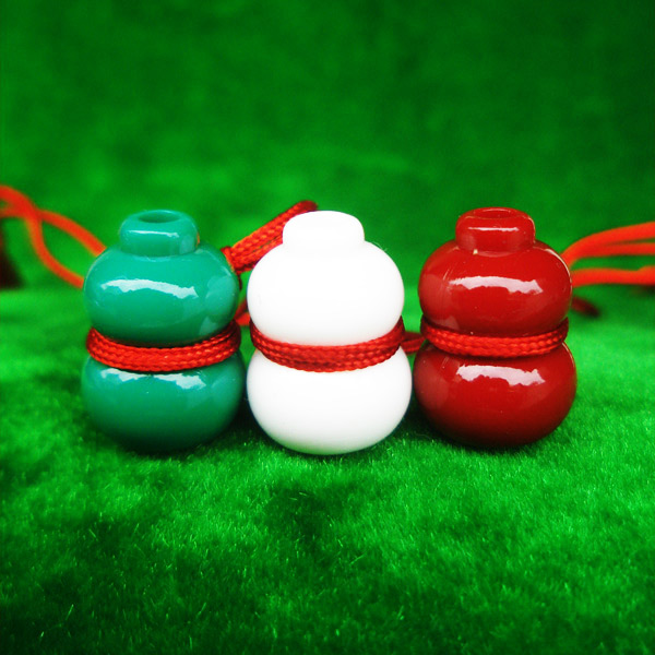 น้ำเต้าหลวงพ่อสด วัดปากน้ำ ชุด 3 สี 3 ลูก แบบที่ 1 รุ่น 100 ปี ภาพสี บูชาไว้เพื่อดูดทรัพย์ดีมาก