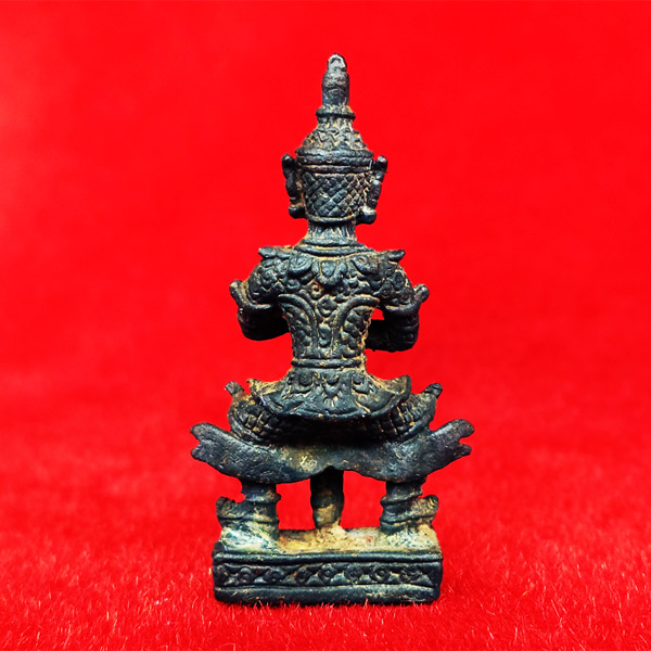 ท้าวเวสสุวรรณ(ท้าวเวสสุวัณ) เวส สะ พุ สะ หล่อโบราณ องค์ใหญ่ วัดสุทัศนฯ พิธีเดือนเพ็ญ ปี 2553 1