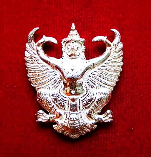 พญาครุฑ รุ่น เลื่อนสมณศักดิ์ เนื้อเงิน พระอาจารย์วราห์ ปุญญวโร วัดโพธิ์ทอง สุดขลัง สุดสวย หายาก