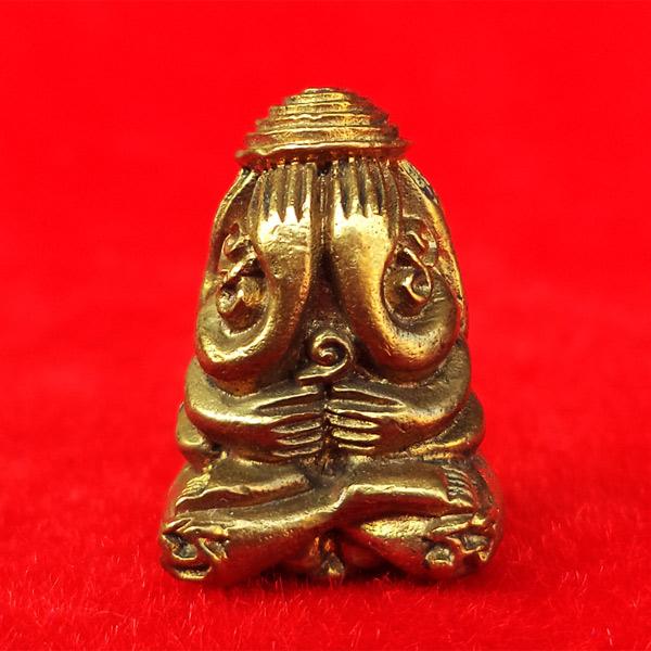 พระปิดตายันต์ยุ่ง หลวงพ่อเชิญ วัดโคกทอง เนื้อทองผสม ปี 2536 สวยเข้มขลัง หายากแล้ว