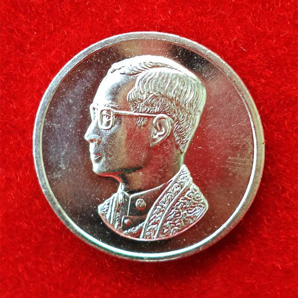 เหรียญคุ้มเกล้า เนื้อเงิน สร้างโรงพยาบาลภูมิพลฯ พิธีใหญ่กองทัพอากาศสร้าง ปี 2522 นิยมมาก 54