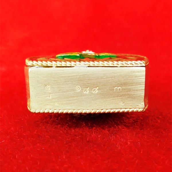 เหรียญหล่อเจ้าสัว หลังเบี้ย รุ่นบันดาลทรัพย์ เหนือดวง พระอาจารย์สัญญา วัดกลางบางแก้ว กรรมการ 188 4