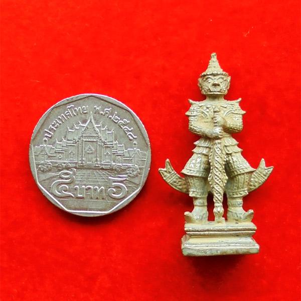 รูปหล่อ ท้าวเวสสุวรรณ รุ่นมหาเศรษฐี หลวงปู่ทวน วัดโป่งยาง จ.จันทรบุรี เนื้ออัลปาก้าดินไทย ปี 2560 3