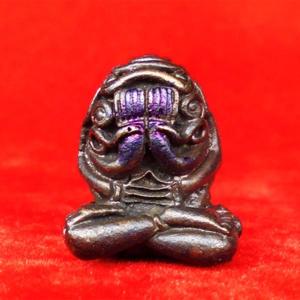 หลวงปู่สรวงเทวดาเล่นดิน พระปิดตาเหล็กไหลเพลิง ใช้ได้เร็วและแรง ปี 2530 องค์ที่ 26