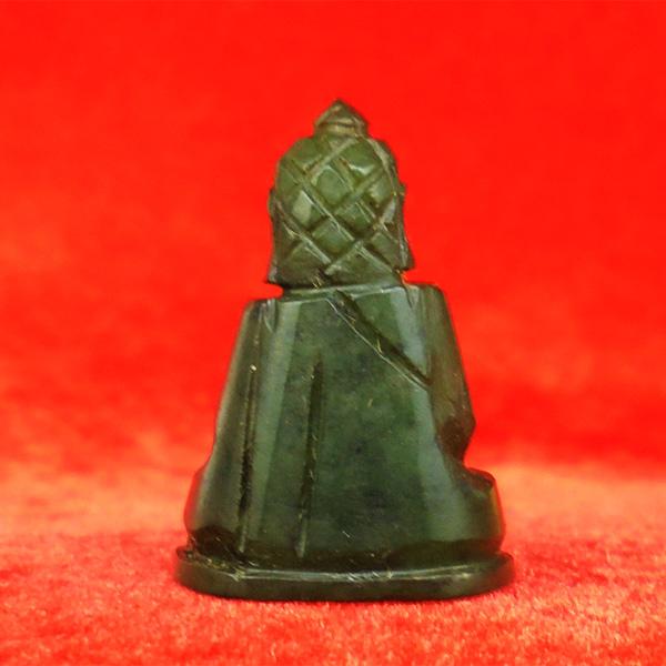 พระหินหยกแกะ พิมพ์พระพุทธ วัดธรรมมงคล สร้างโดยพระอาจารย์วิริยังค์ ปี 2536 สวยหายาก องค์ 16 1