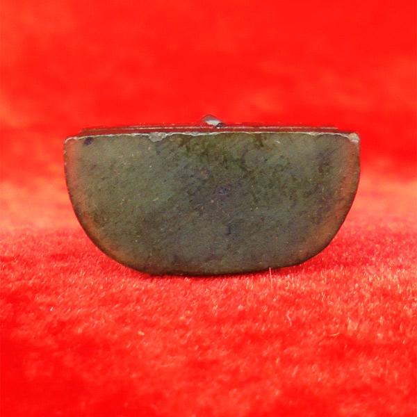 พระหินหยกแกะ พิมพ์พระพุทธ วัดธรรมมงคล สร้างโดยพระอาจารย์วิริยังค์ ปี 2536 สวยหายาก องค์ 16 2