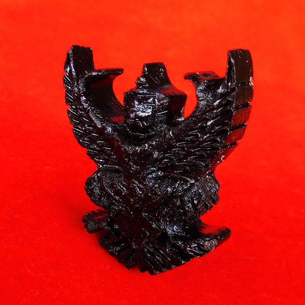 พญาครุฑ เนื้อไม้งิ้วดำ หลวงพ่อนงค์ วัดทุ่งน้อย ปี 2559 สวยเข้มขลังมาก 3