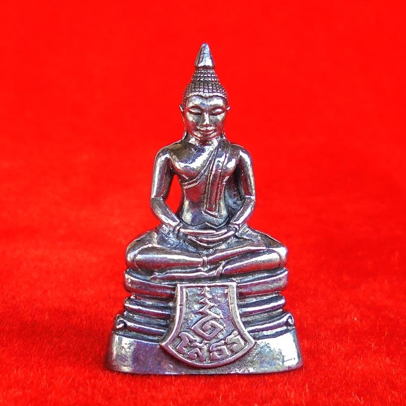 สวยที่สุด พระพุทธโสธร ลอยองค์ กรมศุลกากรครบรอบ 120 ปี เนื้อเงิน พร้อมกล่องเดิม ปี 2537 องค์ 12