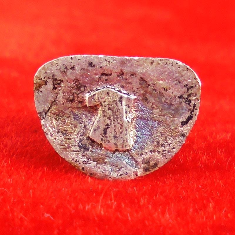 พระสังกัจจายน์หล่อลอยองค์ รุ่นแรก มหาลาภเขมโก หลวงพ่อเกษม เขมโก เนื้อเงิน ปี 2536 สวยเข้มขลัง 2