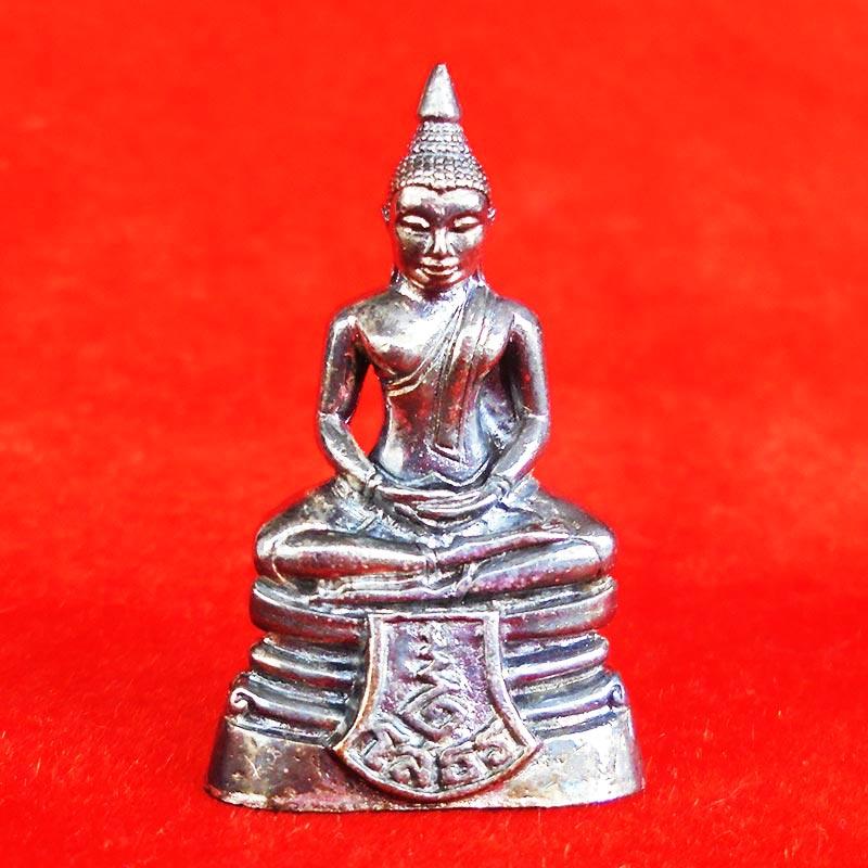 สวยที่สุด พระพุทธโสธร ลอยองค์ กรมศุลกากรครบรอบ 120 ปี เนื้อเงิน พร้อมกล่องเดิม ปี 2537 องค์ 16