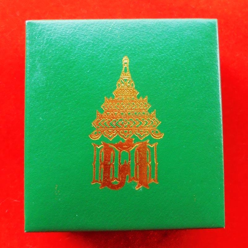 สวยที่สุด พระพุทธโสธร ลอยองค์ กรมศุลกากรครบรอบ 120 ปี เนื้อเงิน พร้อมกล่องเดิม ปี 2537 องค์ 16 4