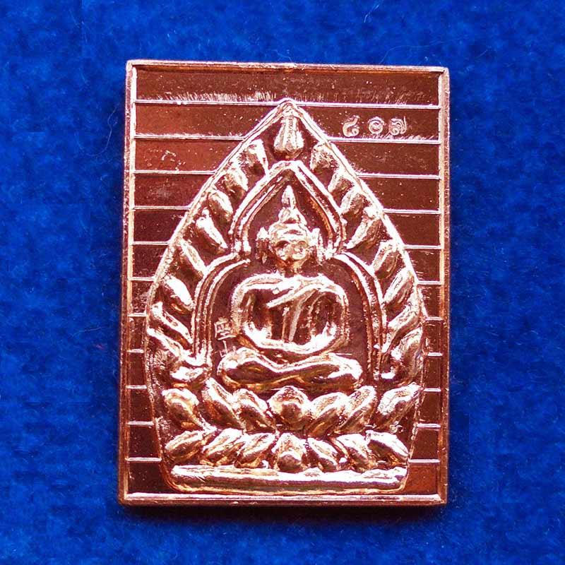 เหรียญเจ้าสัวกรรมการย้อนยุค 2535 เนื้อทองแดง หลวงพ่อคง วัดกลางบางแก้ว ปี 2561 น่าบูชามาก
