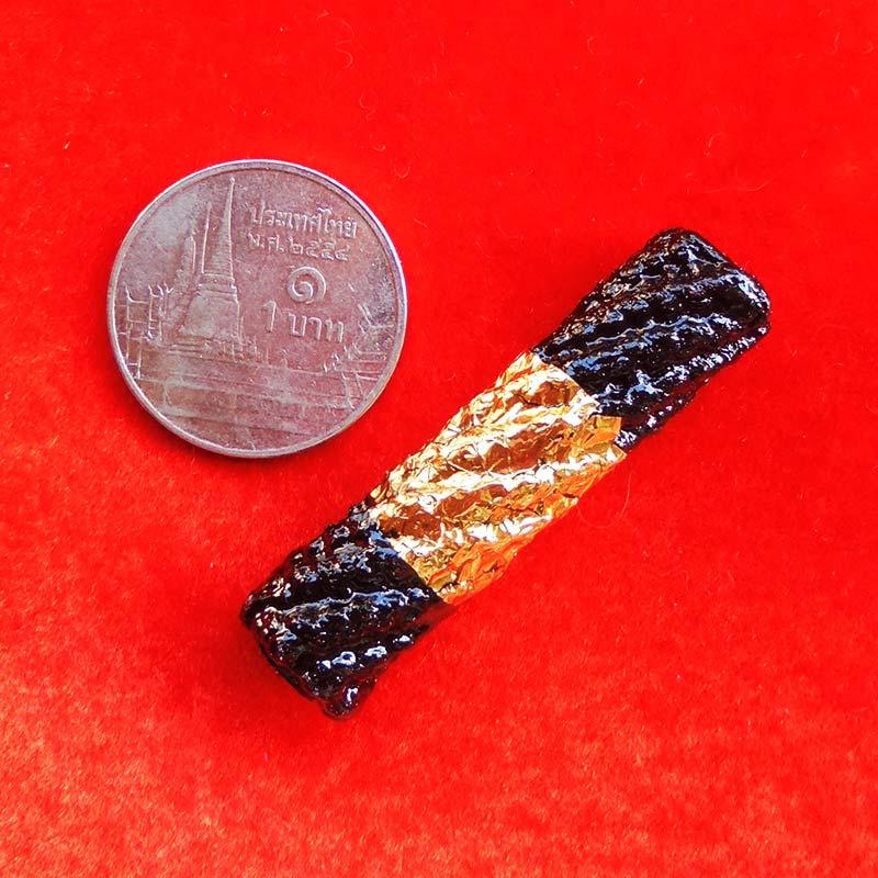 ตะกรุดดำ ยาว 1.5 นิ้ว หลวงพ่อจำลอง วัดเจดีย์แดง อยุธยา พุทธคุณสูง หายาก ซิลล์เก็บแต่แรก สวยกริ๊ป 9 2