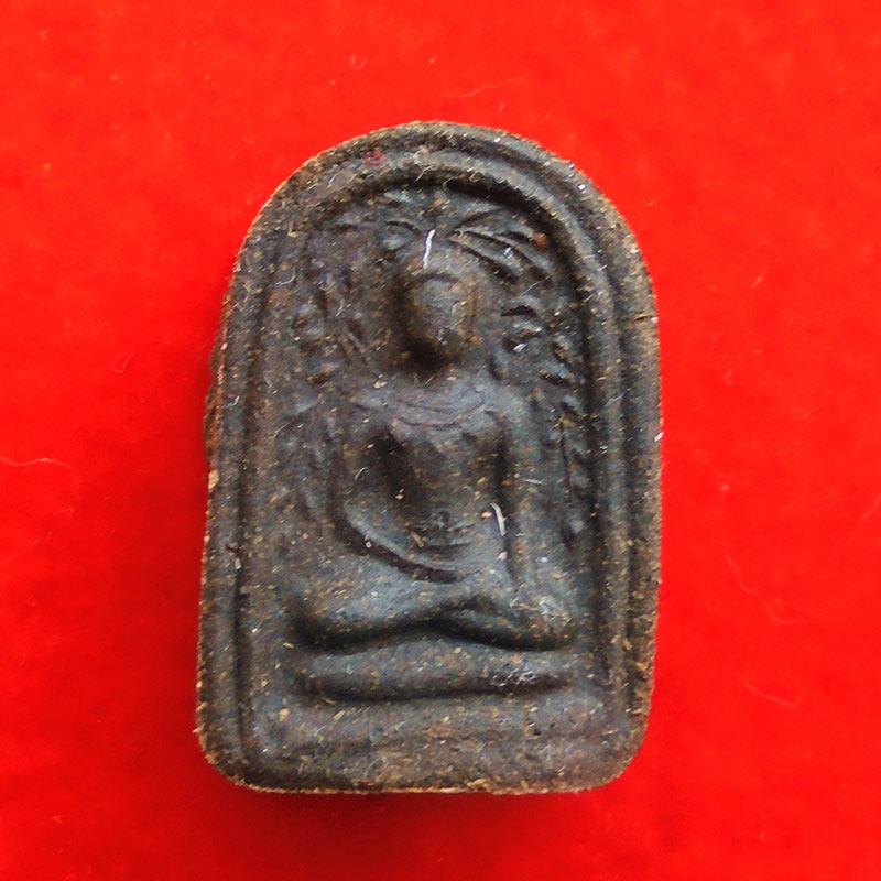 พระพิมพ์เศียรโล้นสะดุ้งกลับ เนื้อผงยาวาสนาจินดามณี หลวงปู่เจือ วัดกลางบางแก้ว ปี 2551 องค์ 44