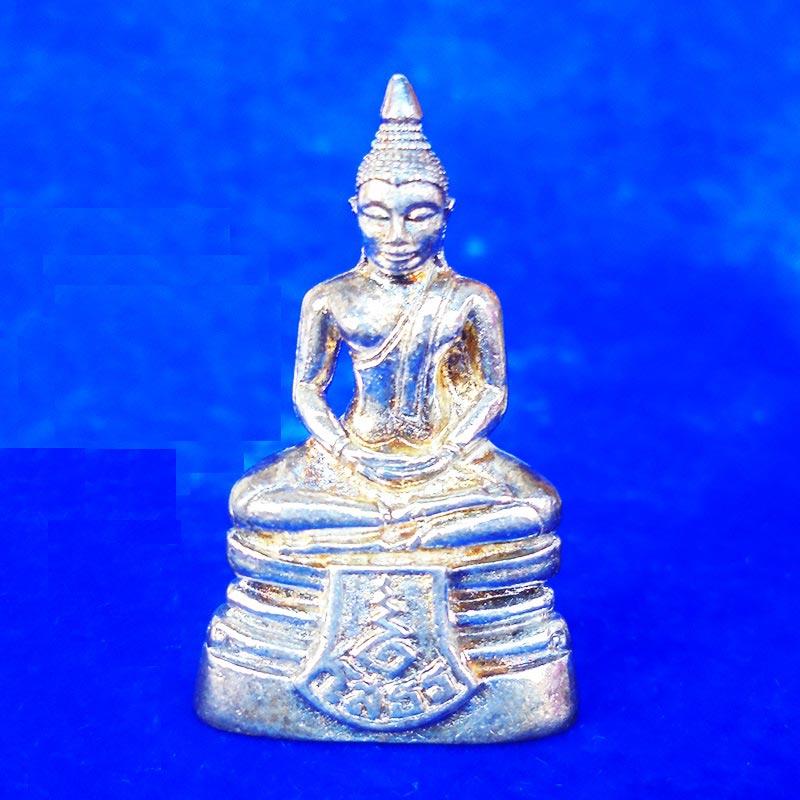 สวยที่สุด พระพุทธโสธร ลอยองค์ กรมศุลกากรครบรอบ 120 ปี เนื้อเงิน พร้อมกล่องเดิม ปี 2537 องค์ 18