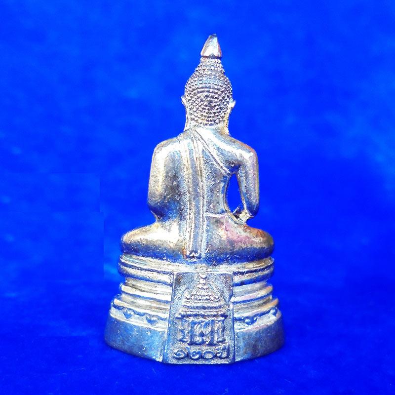 สวยที่สุด พระพุทธโสธร ลอยองค์ กรมศุลกากรครบรอบ 120 ปี เนื้อเงิน พร้อมกล่องเดิม ปี 2537 องค์ 18 1