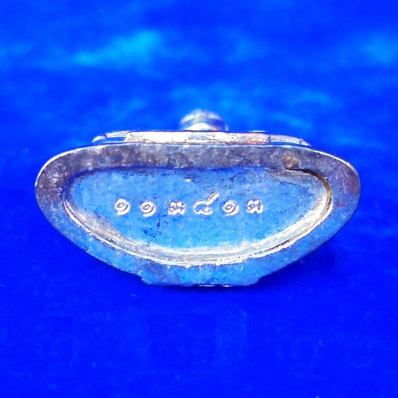 สวยที่สุด พระพุทธโสธร ลอยองค์ กรมศุลกากรครบรอบ 120 ปี เนื้อเงิน พร้อมกล่องเดิม ปี 2537 องค์ 18 2