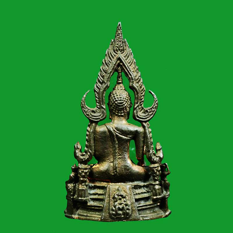 รูปหล่อพระพุทธชินราช ภปร. กองทัพภาคที่ 3 เนื้อนวโลหะ ในหลวงเสด็จทรงเททอง ปี 2517 สุดยอดพิธี 1