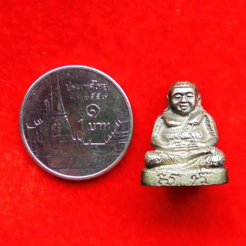 พระสังกัจจายน์  ส.ก. 5 รอบ สมเด็จพระราชินี เนื้อโลหะผสม คล้ายเงิน ปี 2535 สุดยอดแห่งโชคลาภ 3