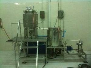 หม้อนึ่งแรงดัน เครื่องผลิตน้ำเห็ด ขนาด100ลิตร(พร้อมระบบกรอง)