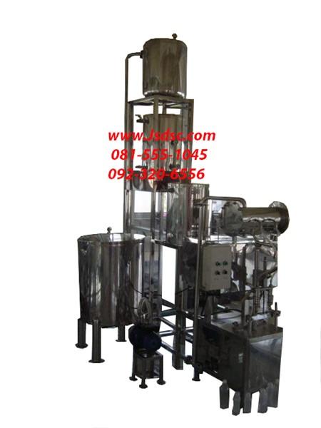 ระบบพาสเจอร์ไรซ์ พร้อมเครื่องบรรจุกึ่งอัตโนมัต /Juice Pasteurizer with semi-auto filling machine