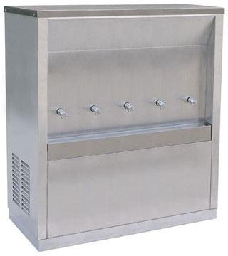 ตู้ทำน้ำเย็น MAXCOOL 6 ก๊อก รุ่น MC-6P ต่อท่อประปา