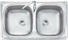 ซิ้งล้างจาน MEX รุ่น DL86 สแตนเลส