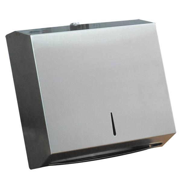 กล่องกระดาษเช็ดมือ สแตนเลส JS-012